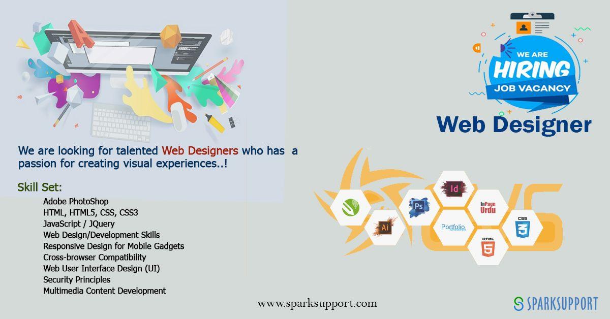 Web Designer in 2020 Web development design, Web