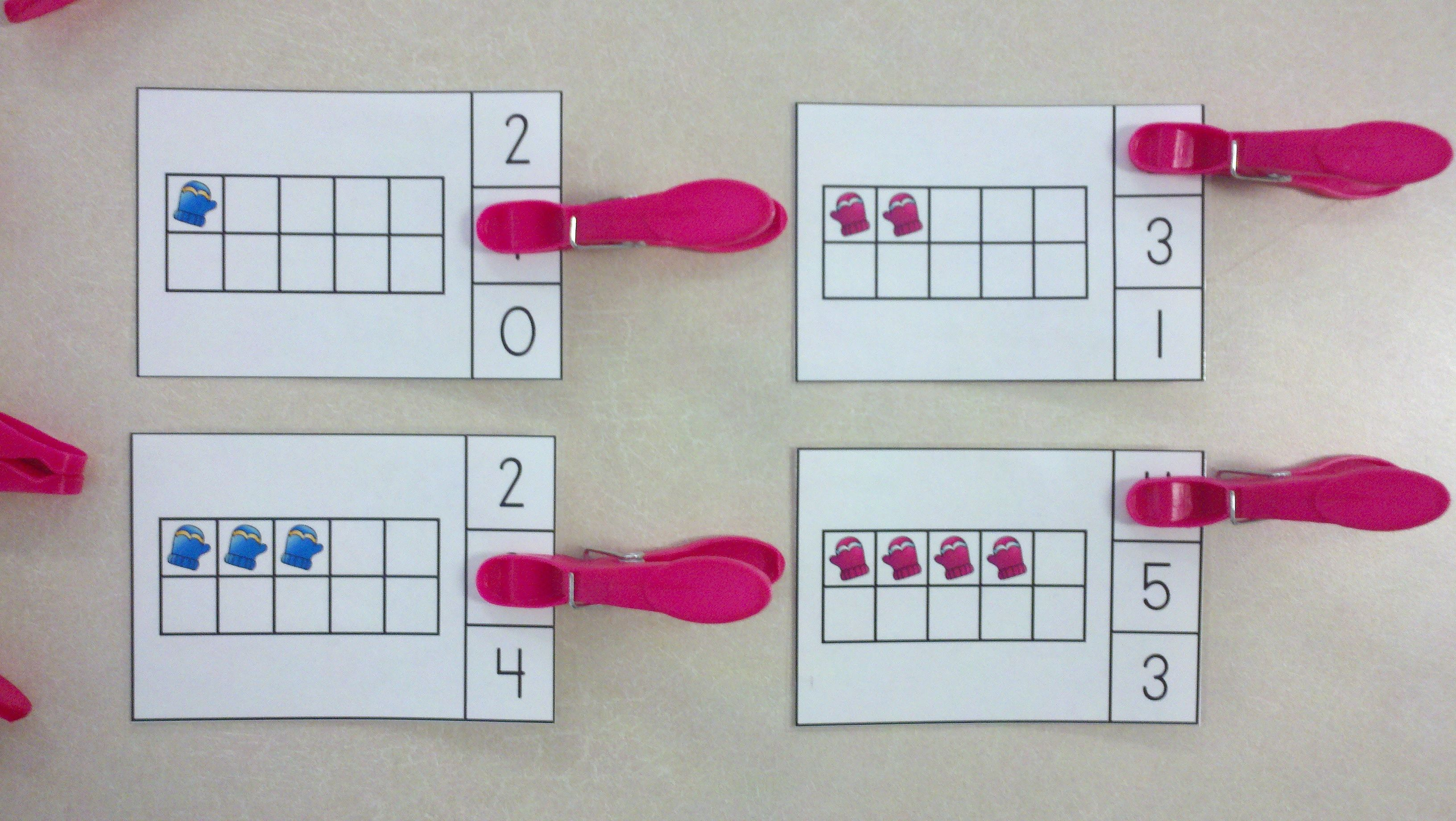 Snow Day Winter Ten Frames Math Centers Quantities Of 0 To 20
