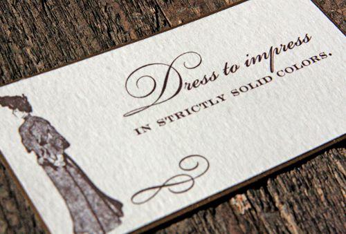 Invitation Wording For Outdoor Wedding Attire