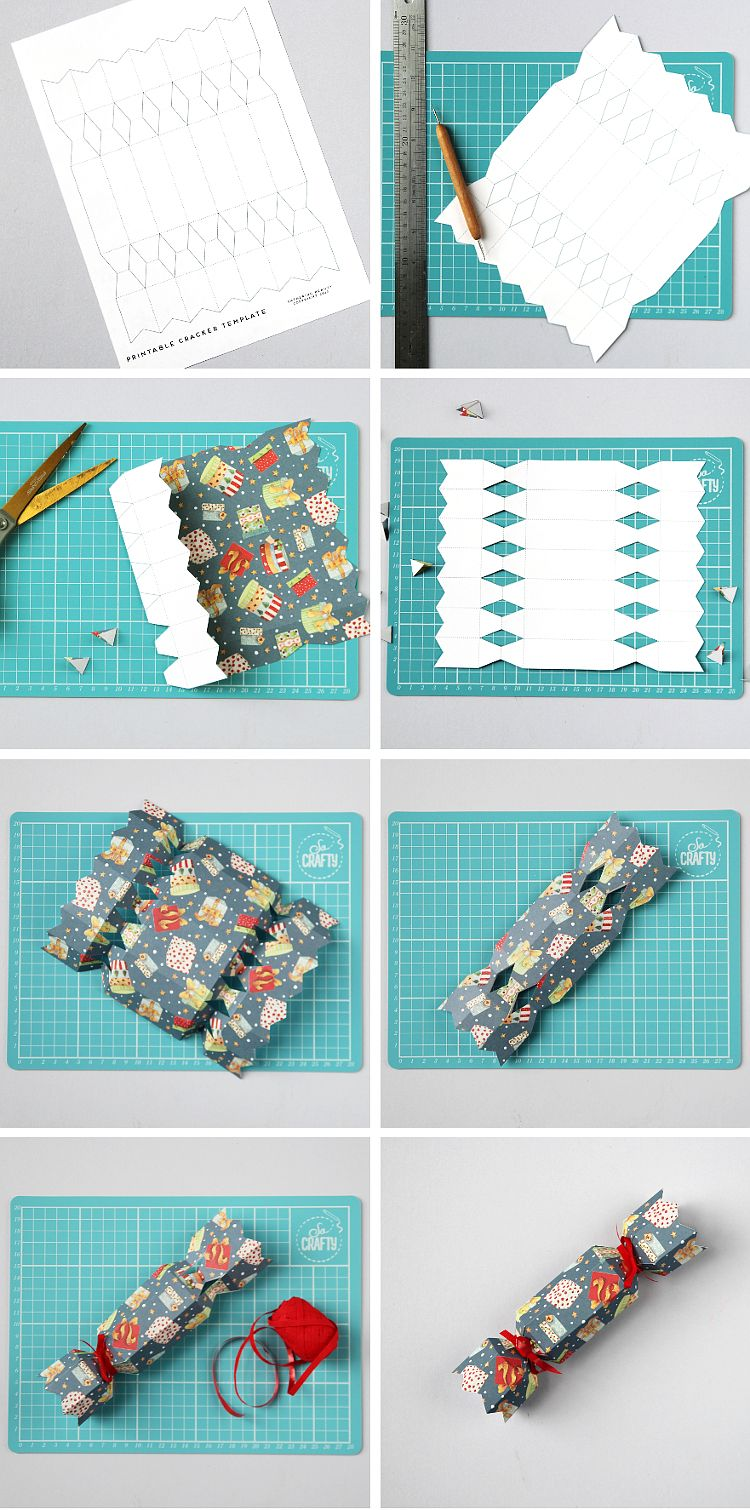 Diy Christmas Crackers Free Printable Template Gathering Beauty Diy Christmas Crackers Diy Christmas Treats Christmas Crackers