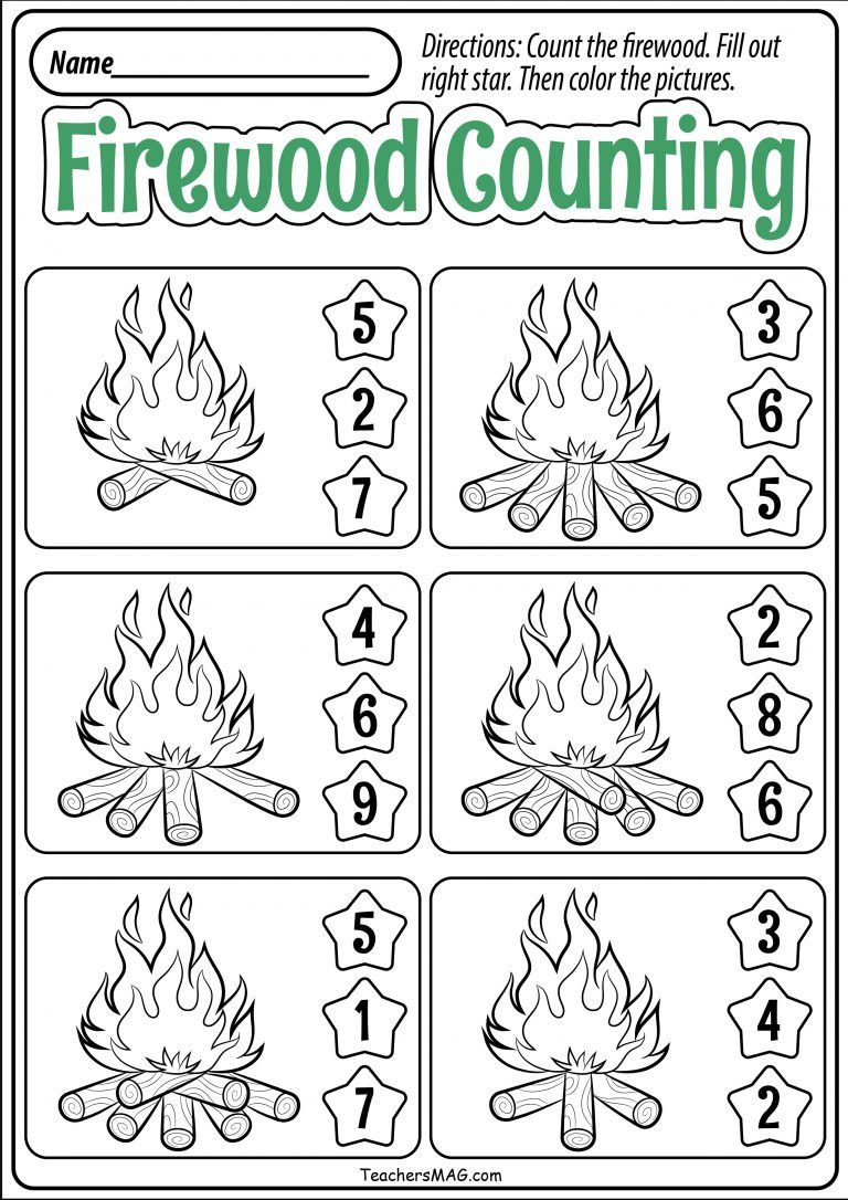 Fall Preschool Math Worksheets Teachersmag Com Preschool Math Worksheets Preschool Fall Math Fall Worksheets [ 1086 x 768 Pixel ]
