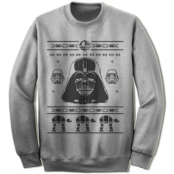 Darth Vader Christmas Sweater Unisex/Adult by giftedshirts Ugly