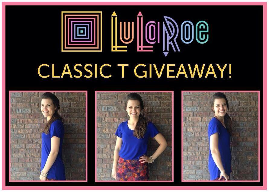 LuLaRoe Classic T Giveaway!