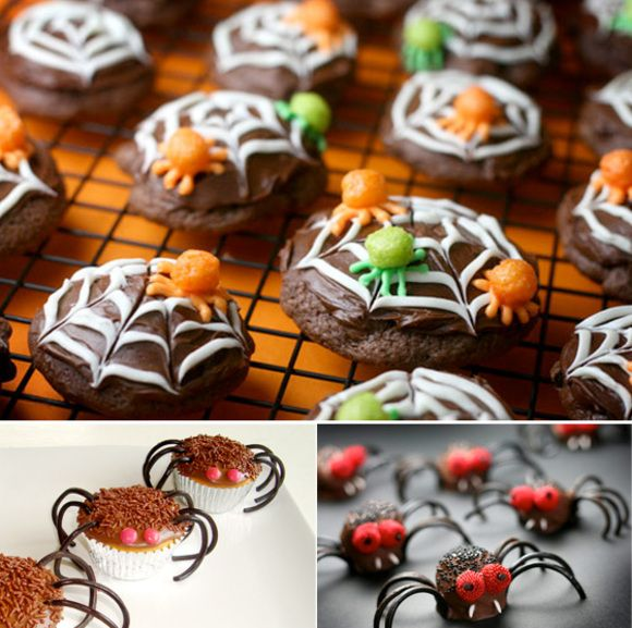 easy halloween cookies and cupcakes