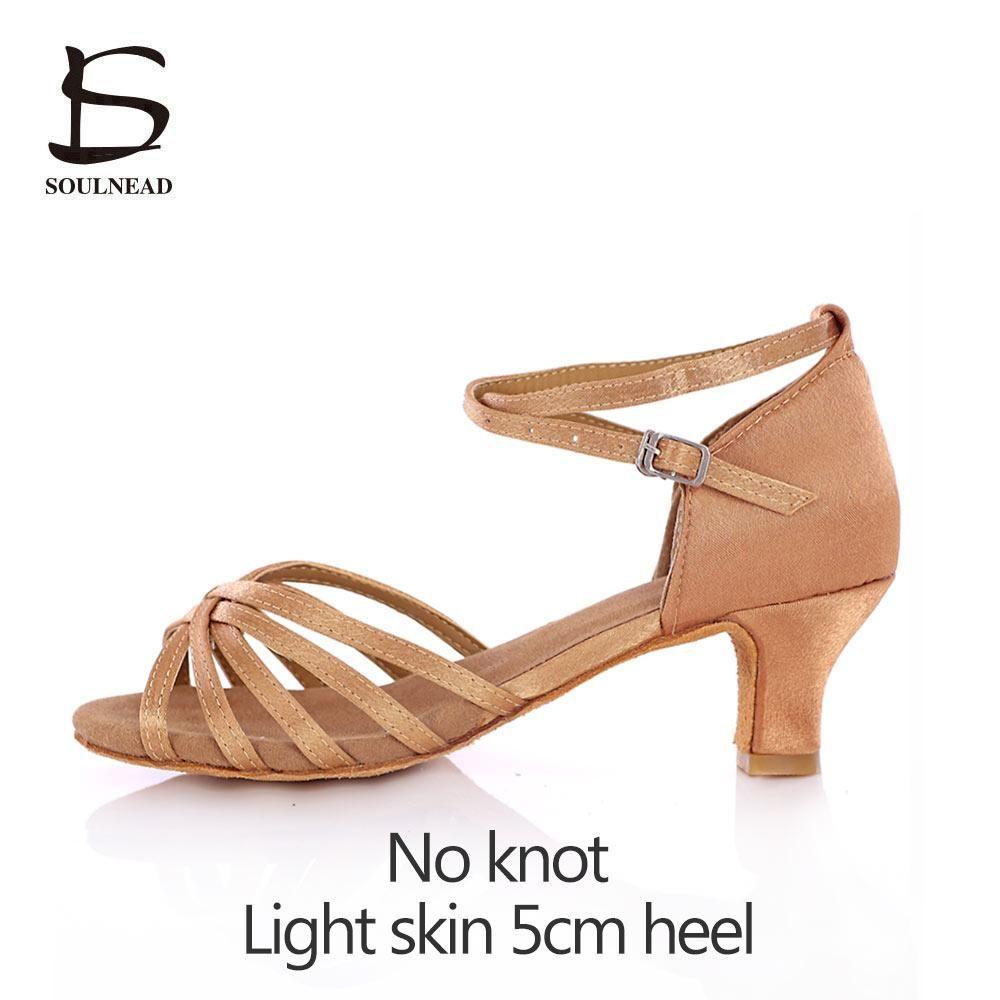 Brand New Women Children Girl/'s Ballroom Latin Tango Dance Shoes heeled Salsa 5