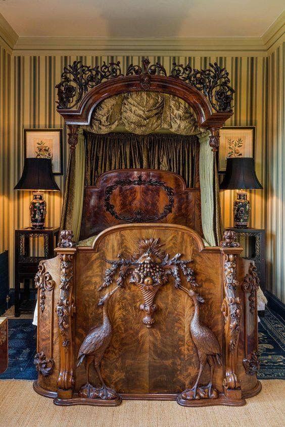 Heron Bed Furniture Victorian Furniture Bed Furniture