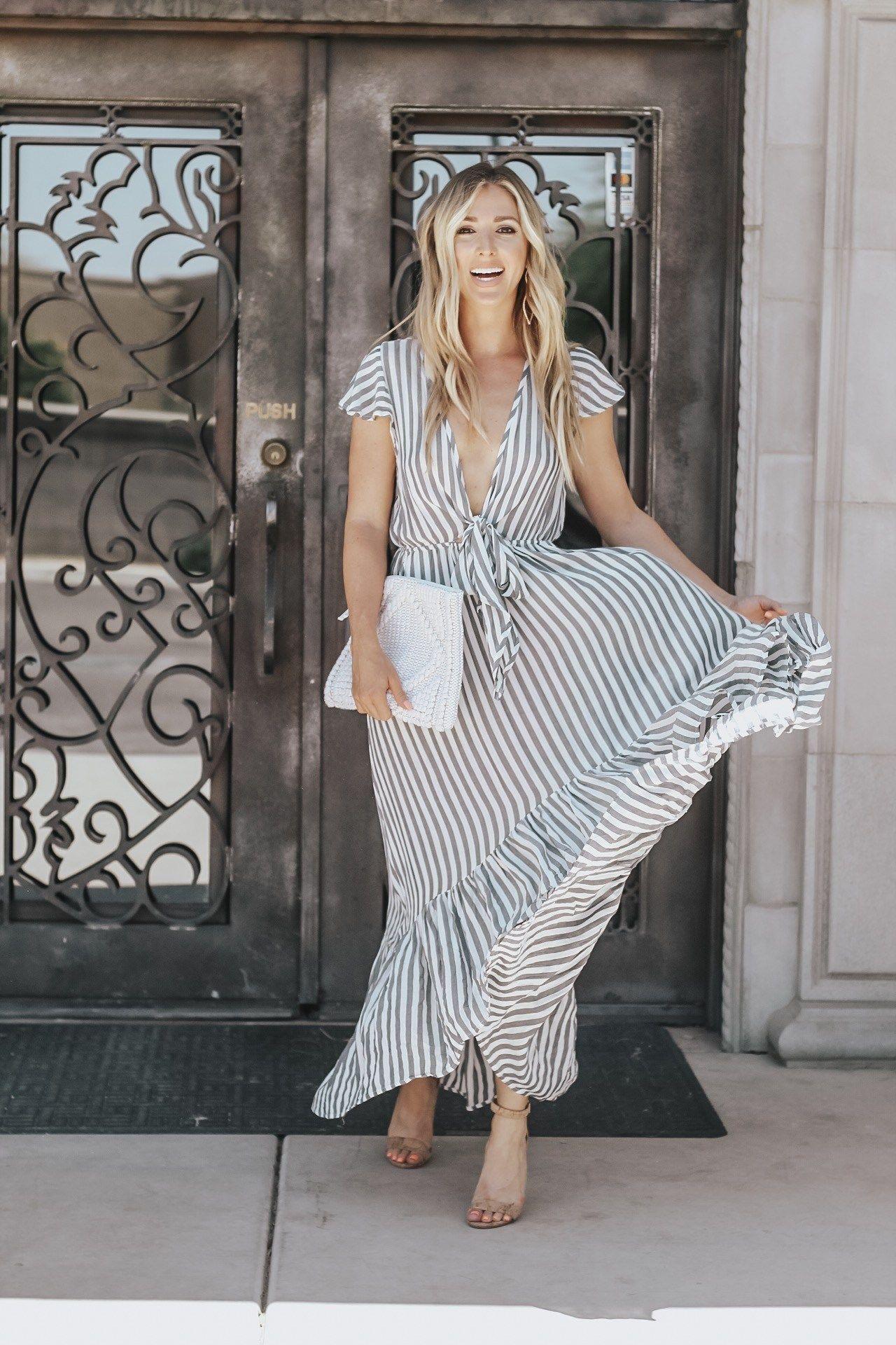 Vici Dolls Always Meliss Striped Dress Striped Maxi Dresses Spring Fashion Outfits Maxi Dress [ 1920 x 1280 Pixel ]