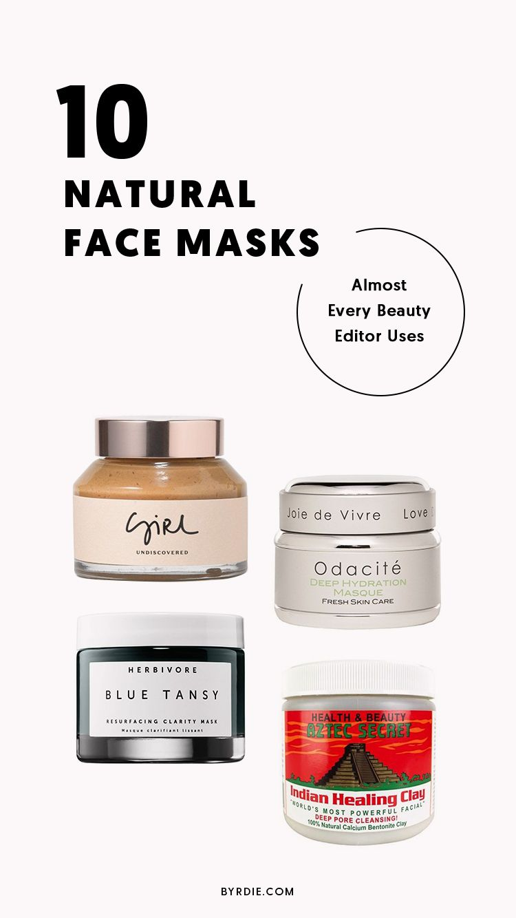 8 Natural Face Masks For Every Skin Issue And Budget Natural
