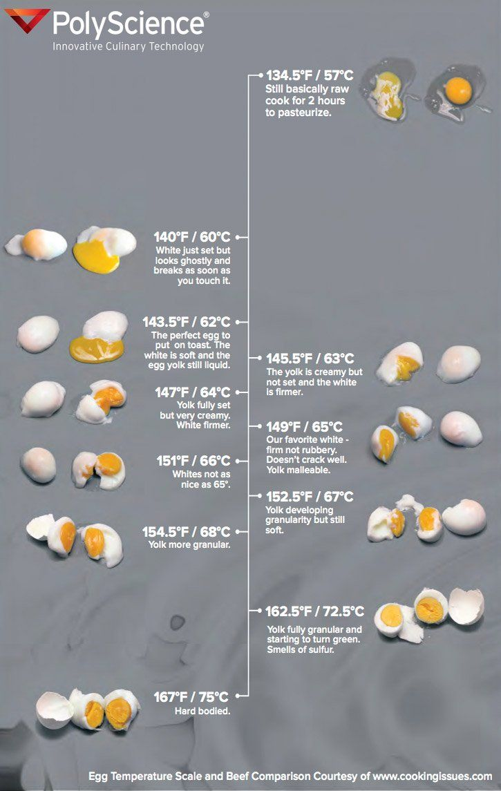 Sous vide cooking time for eggs also times and temperatures alcoholic beverages rh pinterest