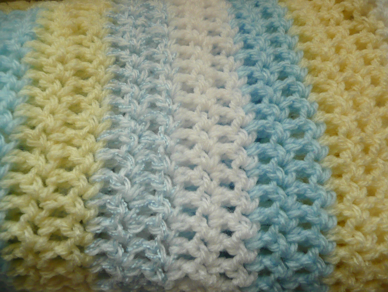 Free Crochet Baby Blanket Patterns | Free Crochet Baby Blanket ...