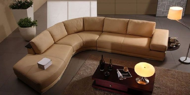 High End Italian Leather Living Room Furniture Modern Sectional Sofas Complete Sets