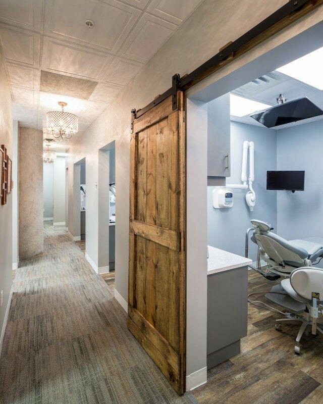 Modern Rustic Downtown Dental Office Dental Office Design