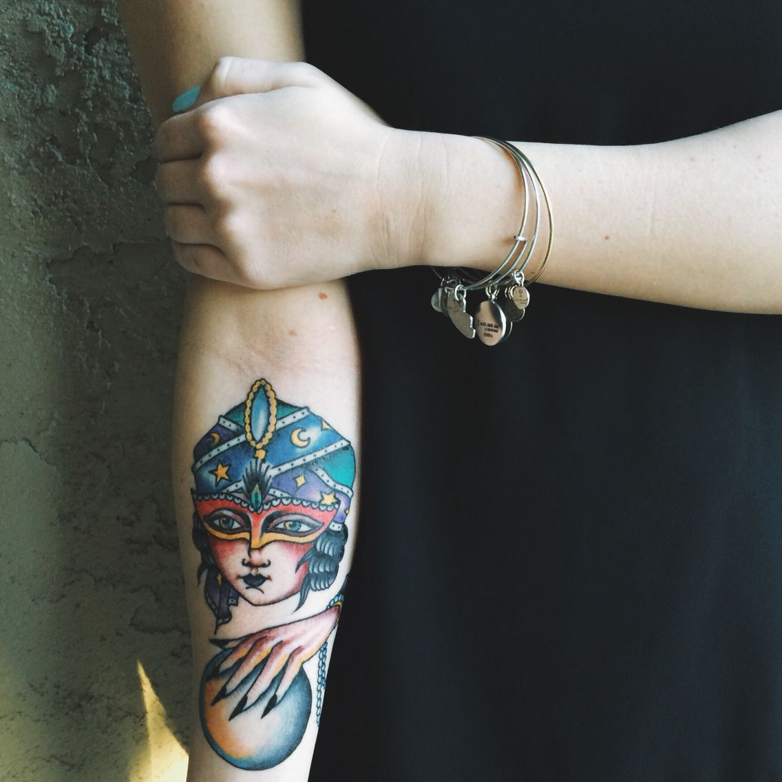Fortune teller tattoo pagan tattoo tattoos art tattoo