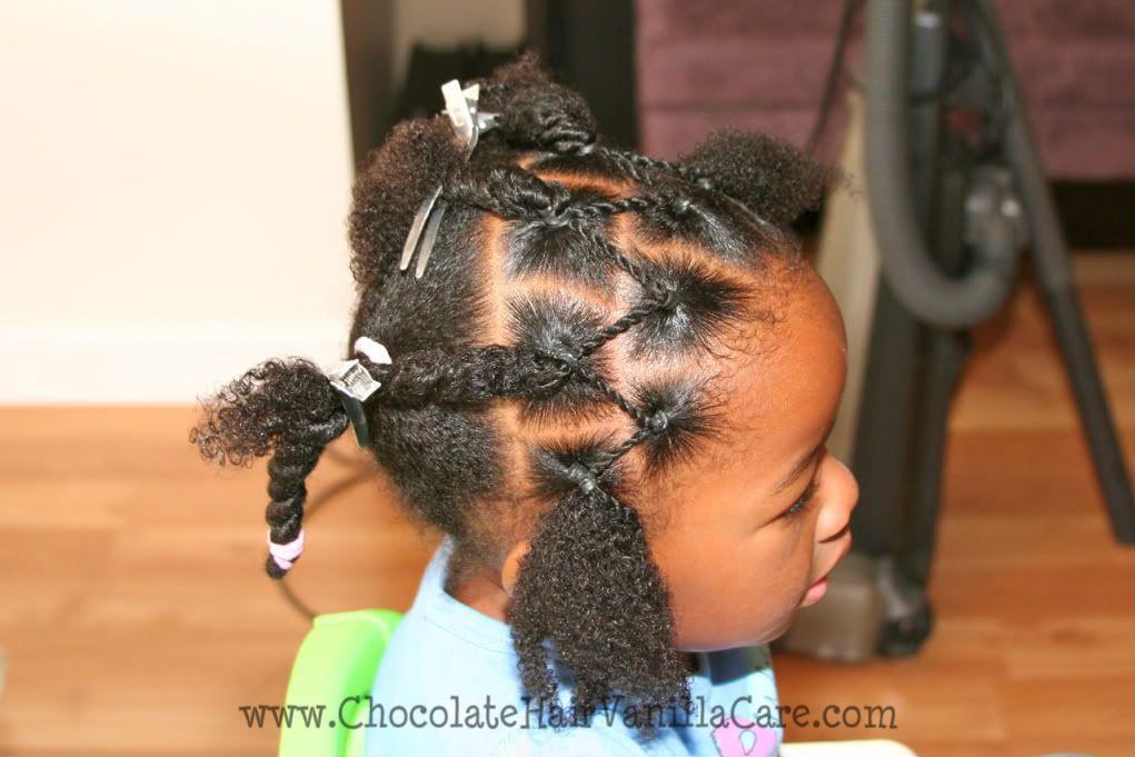 Chocolate Hair / Vanilla Care: Two Strand Rope Twist Veil