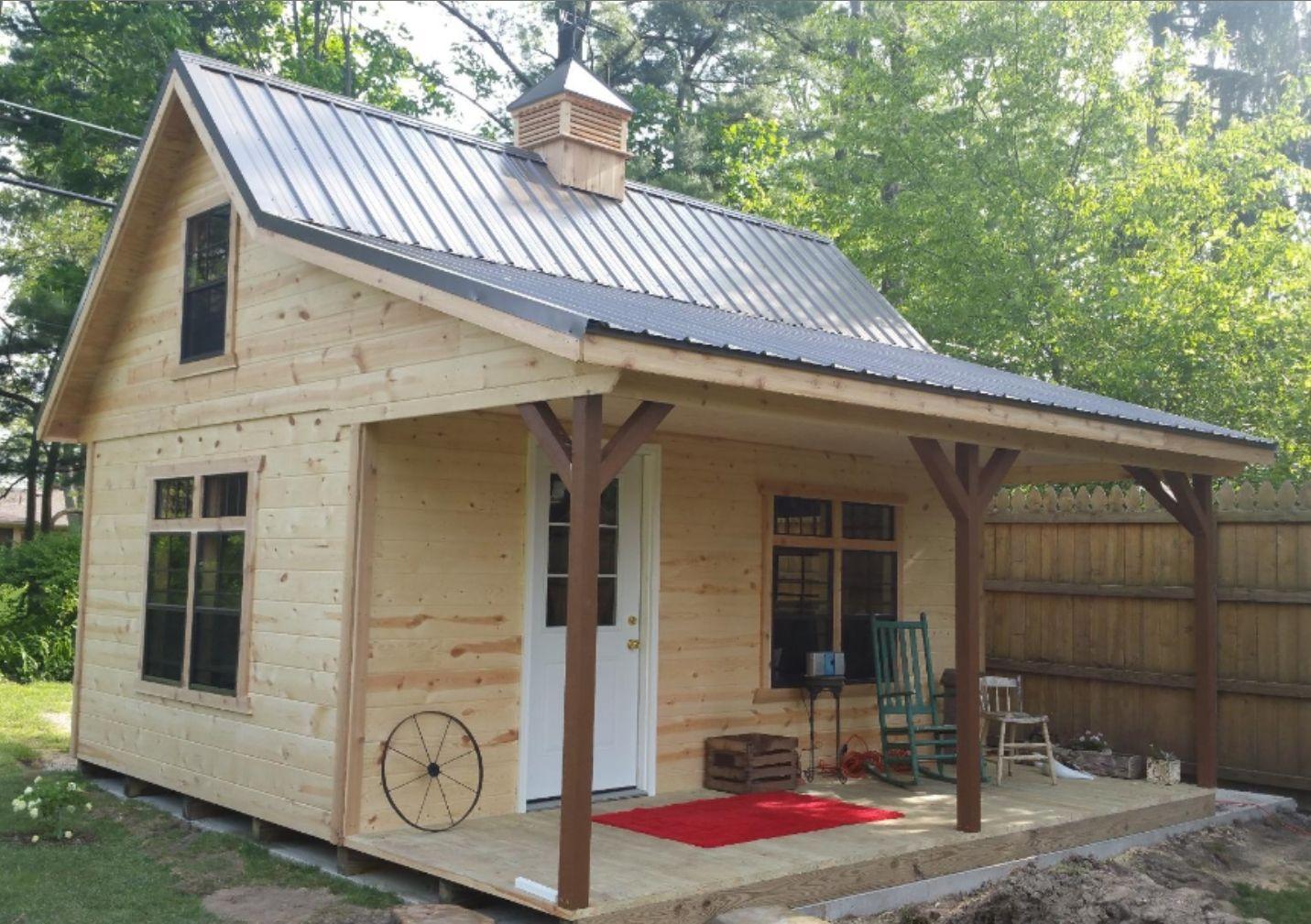 A-Frame Cabins - Miller Storage Barns | Backyard cabin ...