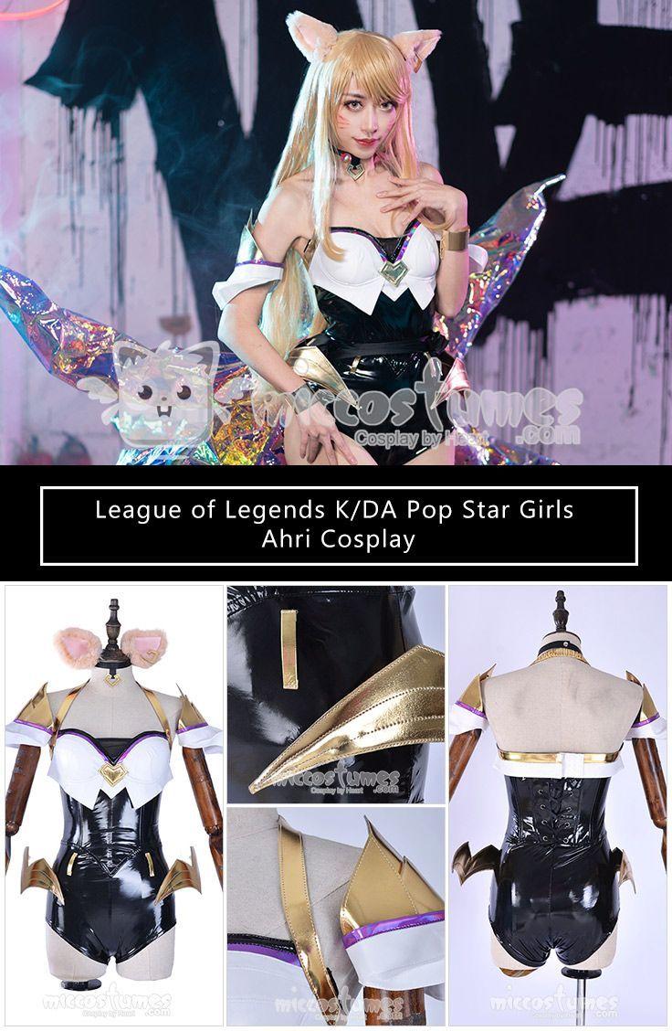 Cosplay Miccostumes Leagueoflegends Kda Leagueoflegendscosplay Kdacosplay Popstarahri Cosplaycostume Popstarco Star Girl Cosplay Woman Cosplay
