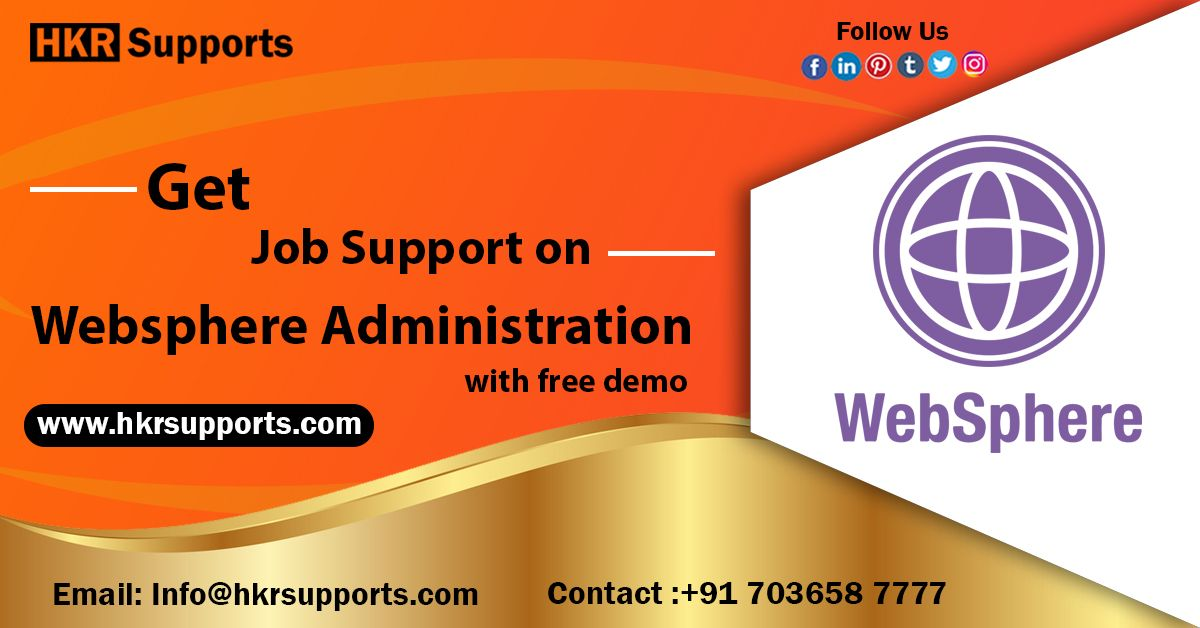 Highquality Online Job support for WebSphere Technology