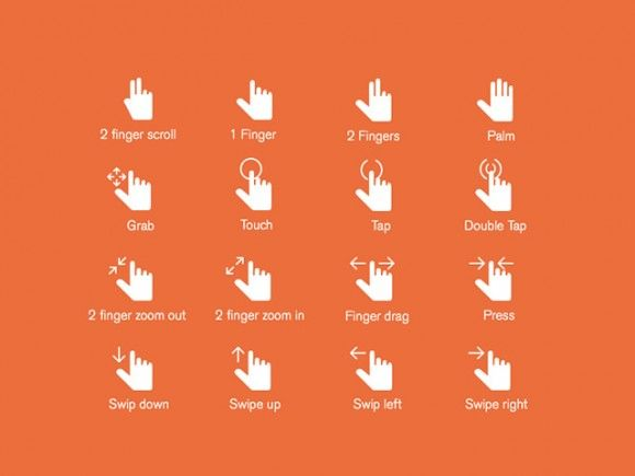 16 Hand Gestures Icons Hands Icon Icon Set Free Web Icons