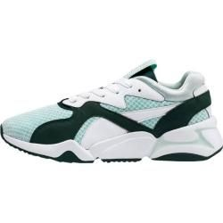 Photo of Puma women's sneakers Nova '90s Bloc, size 42 in fair aqua-ponderosa pine, size 42 in fair aqua-ponde