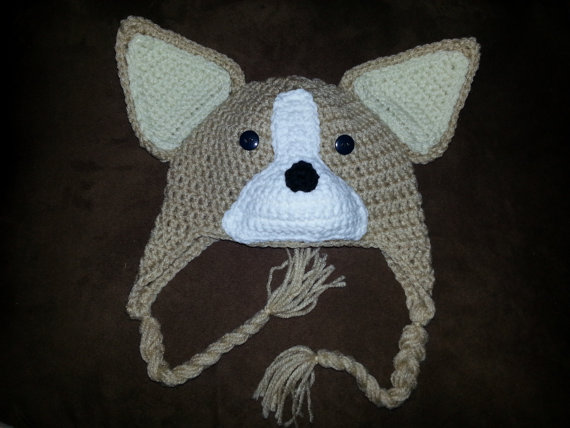 Pembroke Welsh Corgi - Amigurumi Crochet Tiny Dog Stuff Animal ... | 428x570