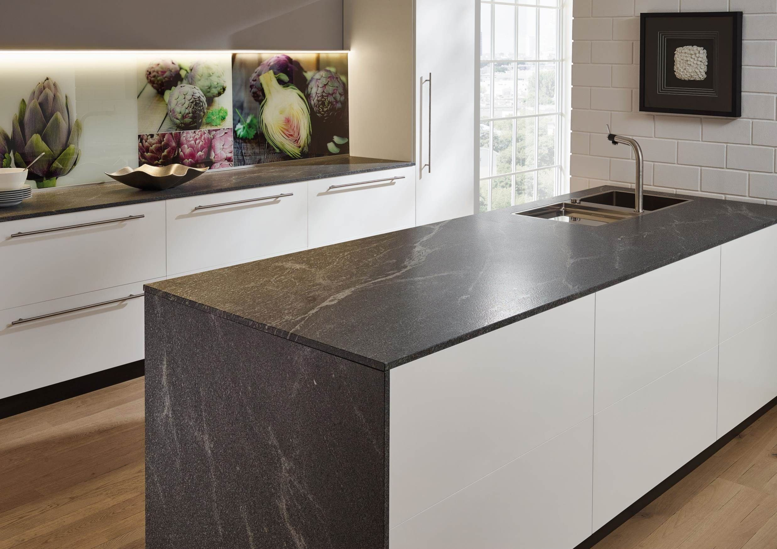 Lechner Kuchenarbeitsplatten Design Elegant Grey Umbau Kleiner Kuche Arbeitsplatte Kuche Kuche
