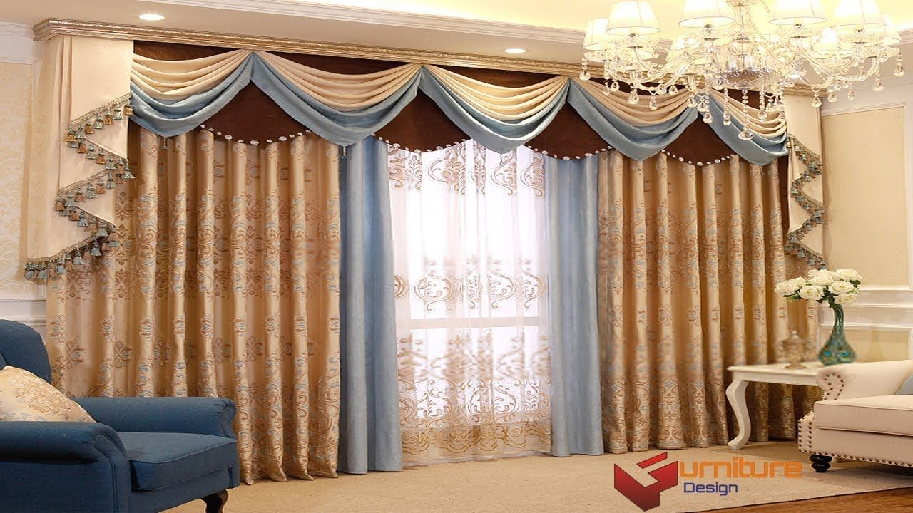 Curtain Design For House Interiors India Parda Design In Room Curtain Fashion In Pa In 2020 Curtains Living Room Window Treatments Living Room Insulated Curtains