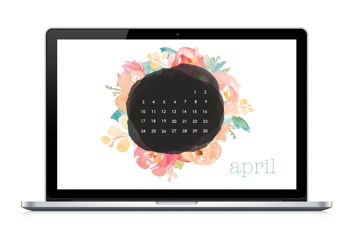 April Calendar Spring Is Here Projects Calendar
