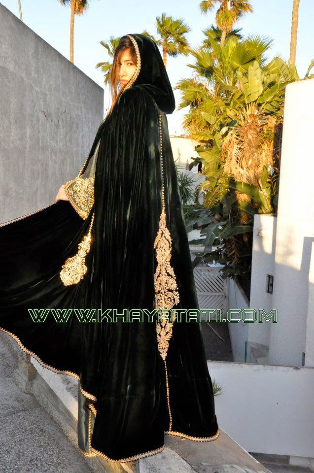 كيفية تفصيل السلهام المغربي الباترون Moroccan Dress