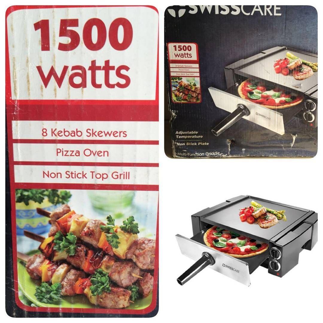 For Sale Swisscare Multi Function Griddle Model Shmf 316n 3 In 1 Griller Kebab Maker Pizza Oven New Price 30 Bd للبيع شو Kebab Skewers Kebab Food