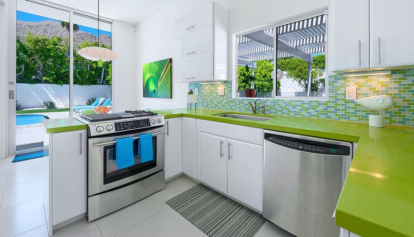 Berühmt Deko Ideen Für Küchen Mit Grünen Platten Ideen ...