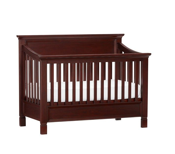 Pottery Barn Larkin Fixed Gate Expresso Cribs 4 In 1