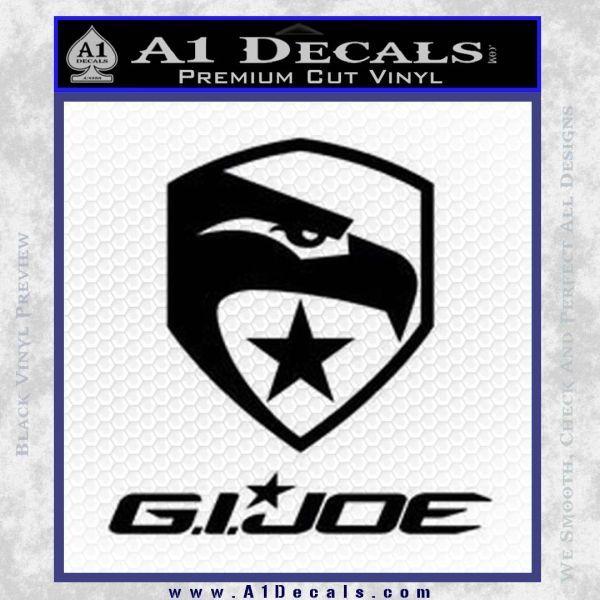 GI Joe Decal Sticker Movie