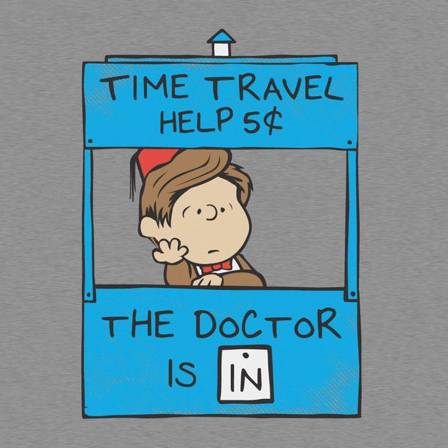 Check out this awesome 'The+Doctor+Is+In' design on TeePublic! http://bit.ly/ZS9Owf- Yes!!!!