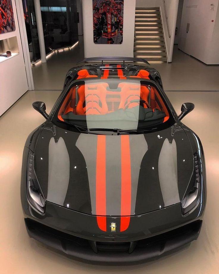 Ferrari 458 Preta Luxury Cars