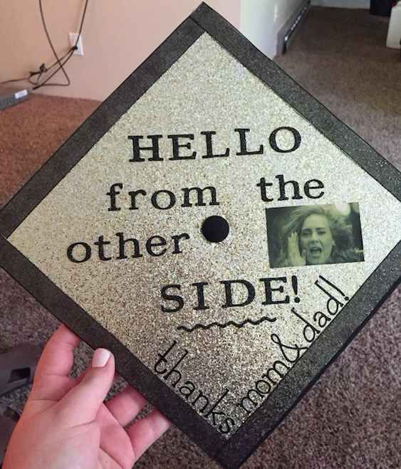24 Graduation Caps That Totally Fucking Nailed It