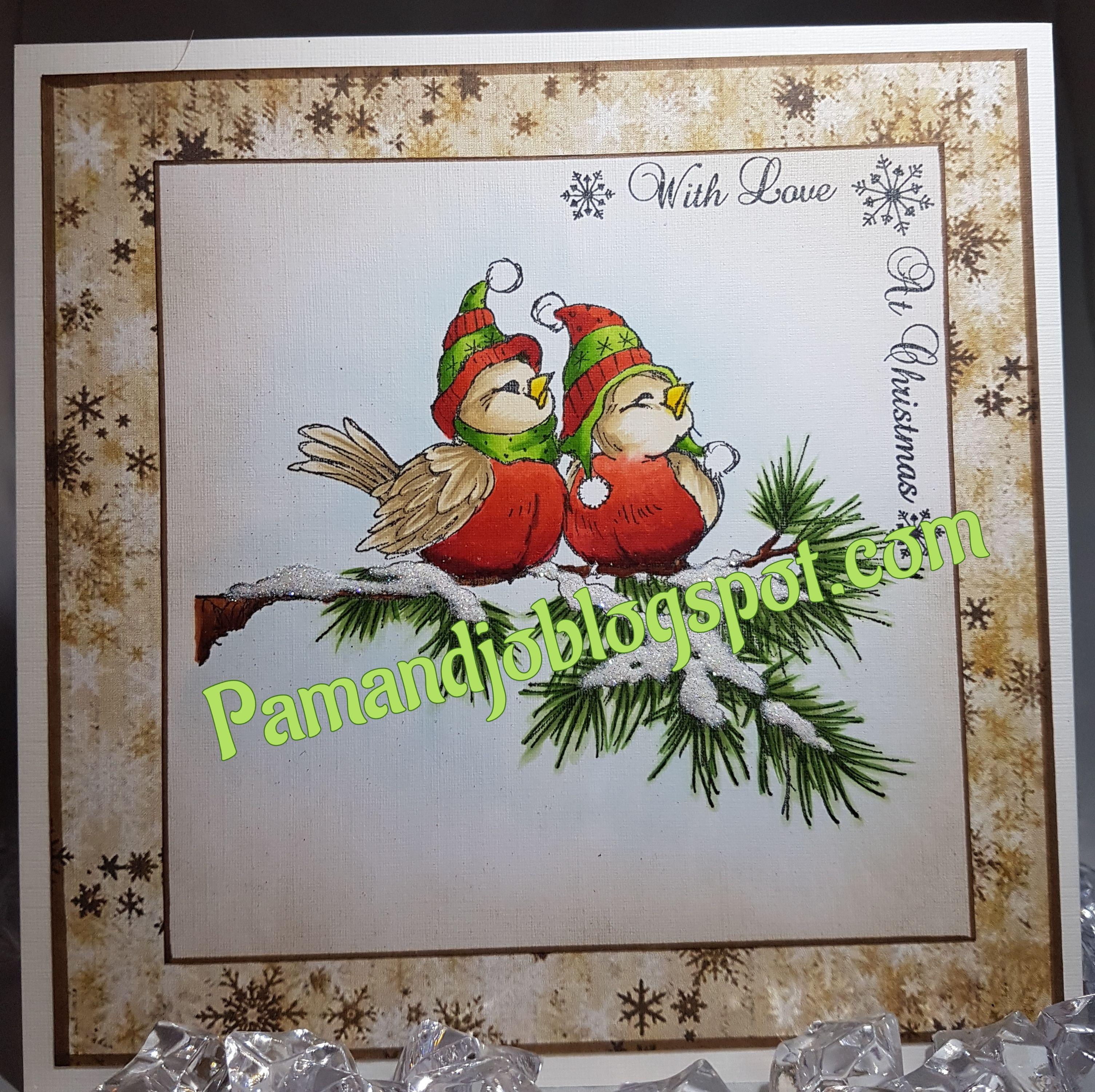 C1759, Stampendous Winter birds  Phil Martins - sentiment