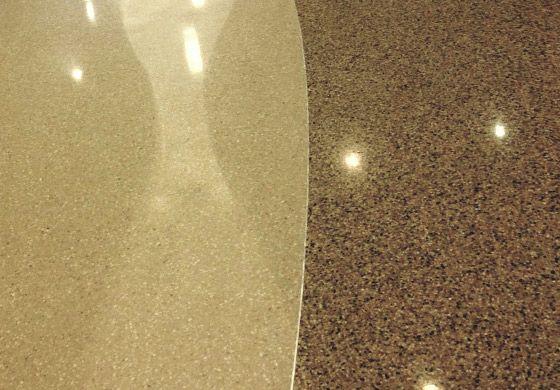 Terrazzo and Concrete Polishing decorative concrete service