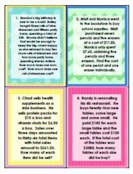 Systems of equations money money money assessment worksheet systems of equations money money money assessment wor ibookread Read Online