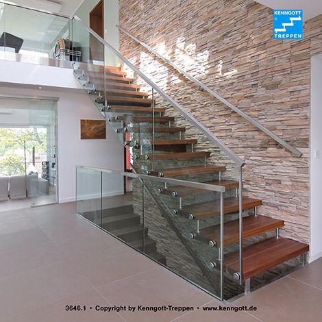 kenngott treppe cristall geradl ufig stufenmaterial. Black Bedroom Furniture Sets. Home Design Ideas
