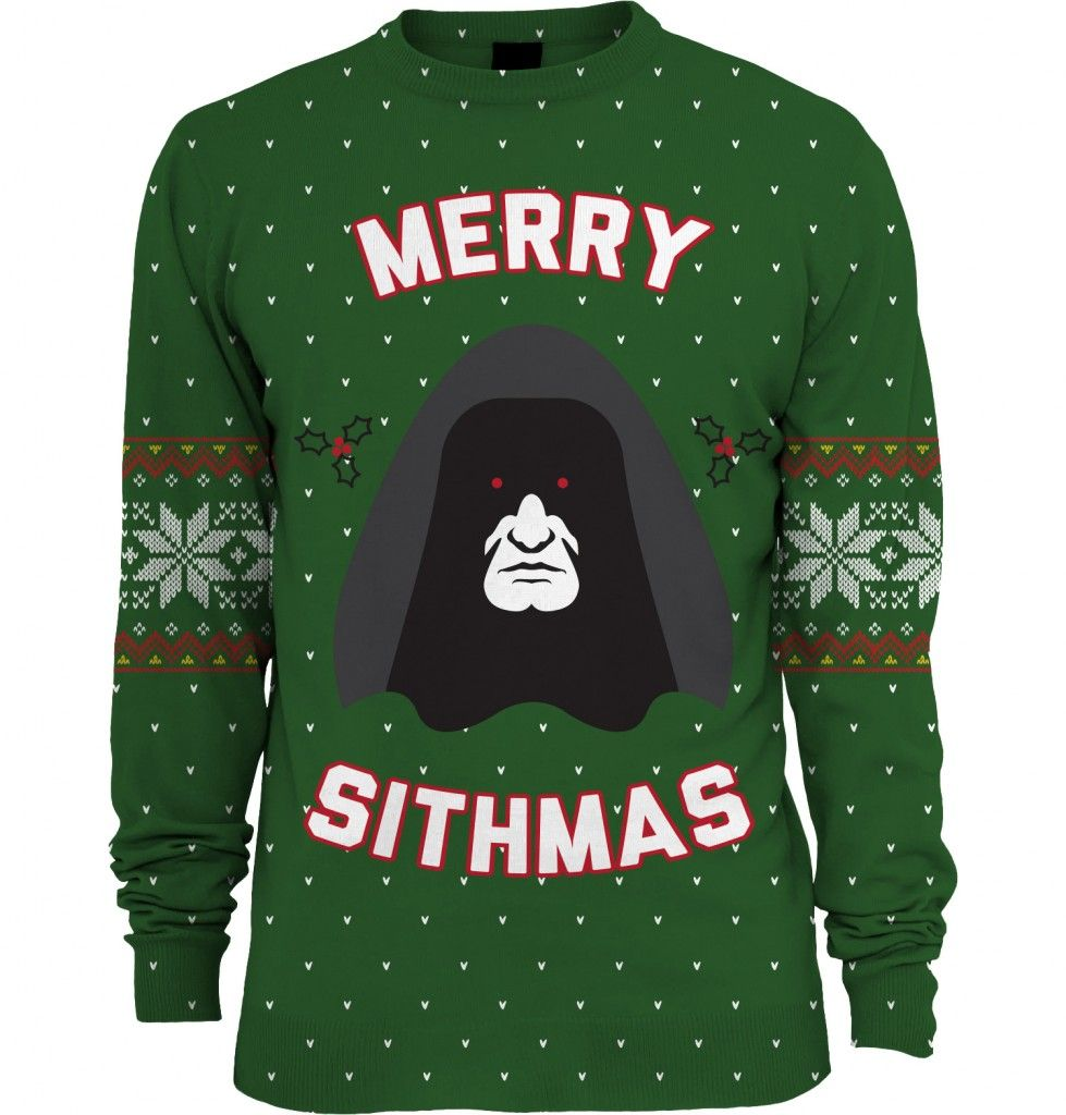Star Wars: Merry Sithmas Knitted Unisex Christmas Sweater/Jumper ...