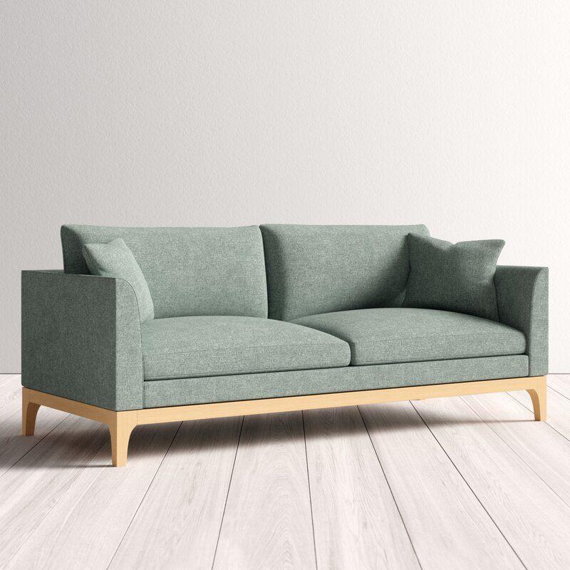 Nolin Sofa Allmodern In 2020 Sofa Scandinavian Style Scandinavian Furniture Design Sofa Design