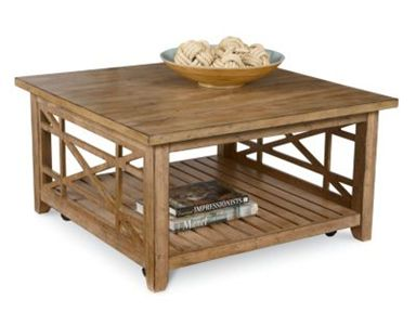 Shop For Broyhill Frasier Square Coffee Table With Casters - Frasier coffee table