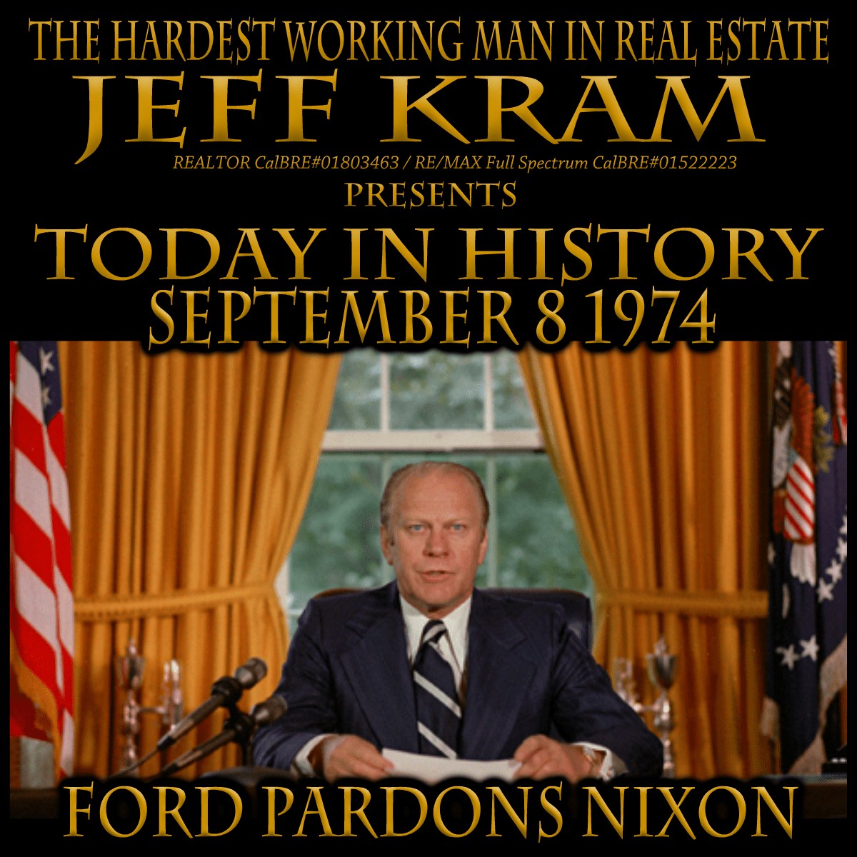 Today In History September 8 1974 With Images Today In History