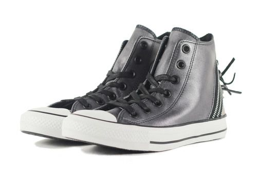 Low Price Offer Women Converse Black Ct Hi Tri Zip Portrait sneaker