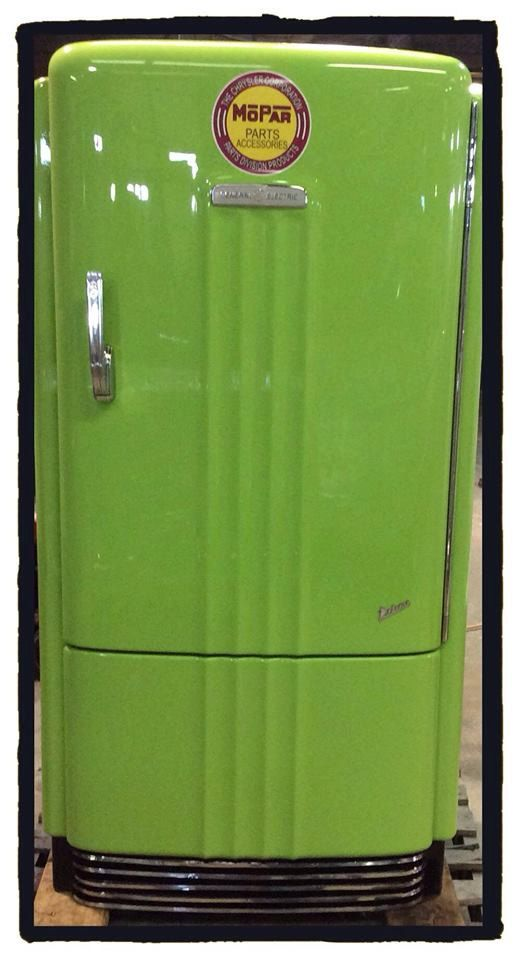 Custom Refurbished Retro Refrigerator Made To Order Man Etsy Retro Refrigerator Vintage Refrigerator Garage Decor