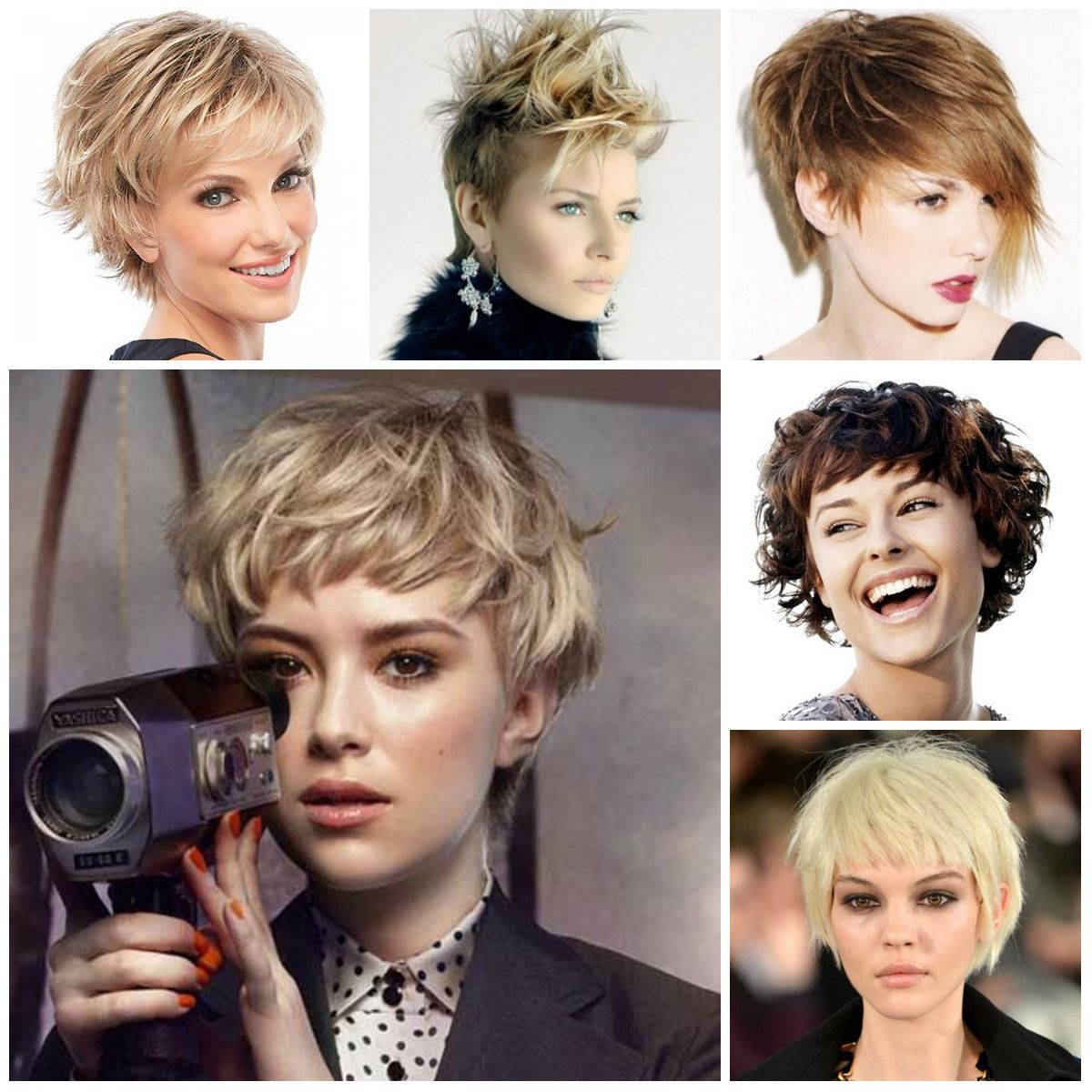 Short shag hairstyles for hair and beauty pinterest short