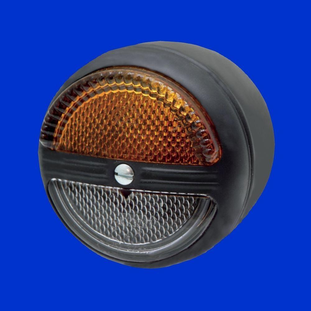 Hella Begrenzungsleuchte Standlicht Weiss U Blinker Gelb Metallgehause D 80mm Standlicht Gehause Licht
