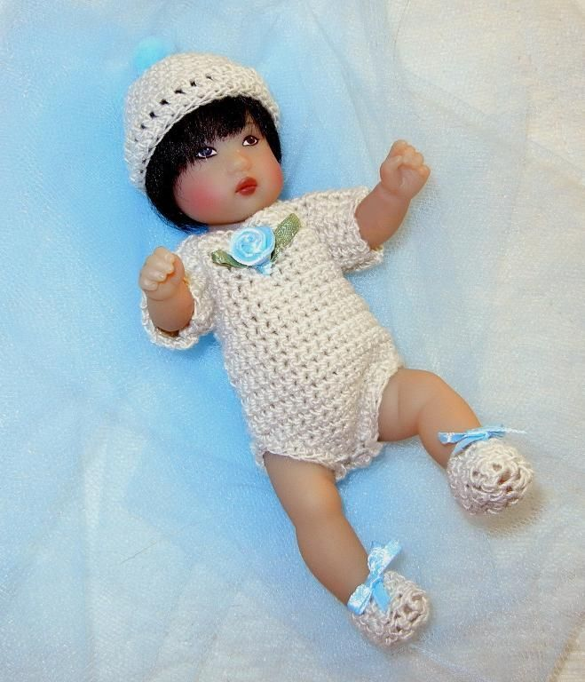 Basic Layette for 5-6 inch baby doll