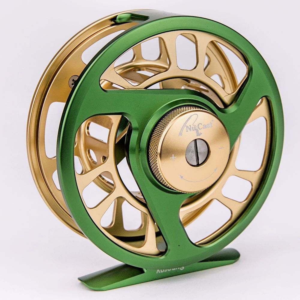 7 8 Wt Synergy 2 Reel Green Gold Green Amp Gold 7 8 Wt Synergy Green And Gold Fly Fishing Equipment Fly Shop