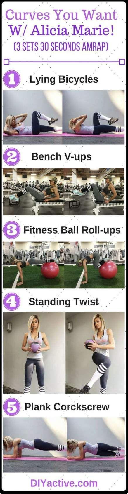 39 trendy ideas for fitness body curves abs #fitness